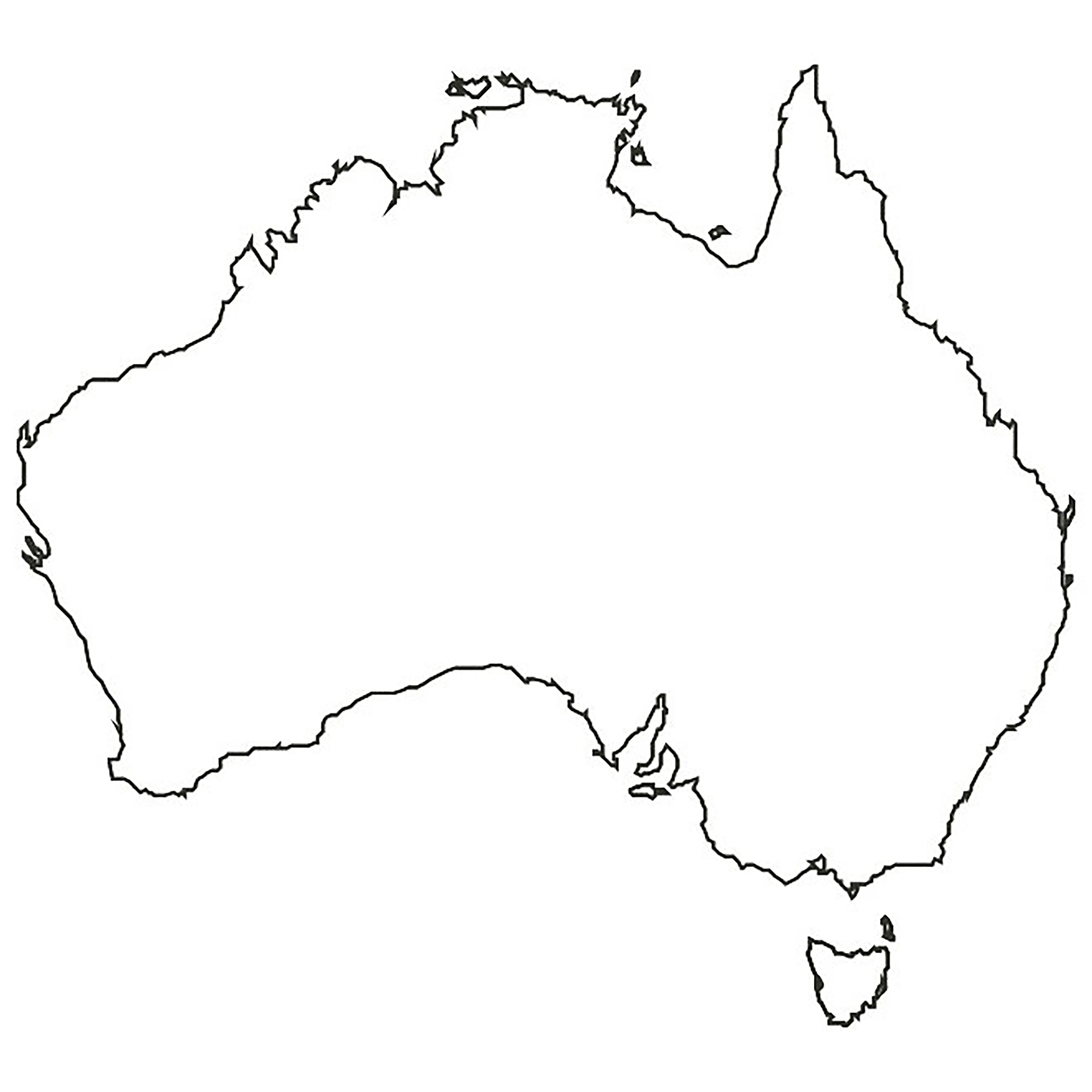 VerMints Made It To Australia Australia map, Map vector