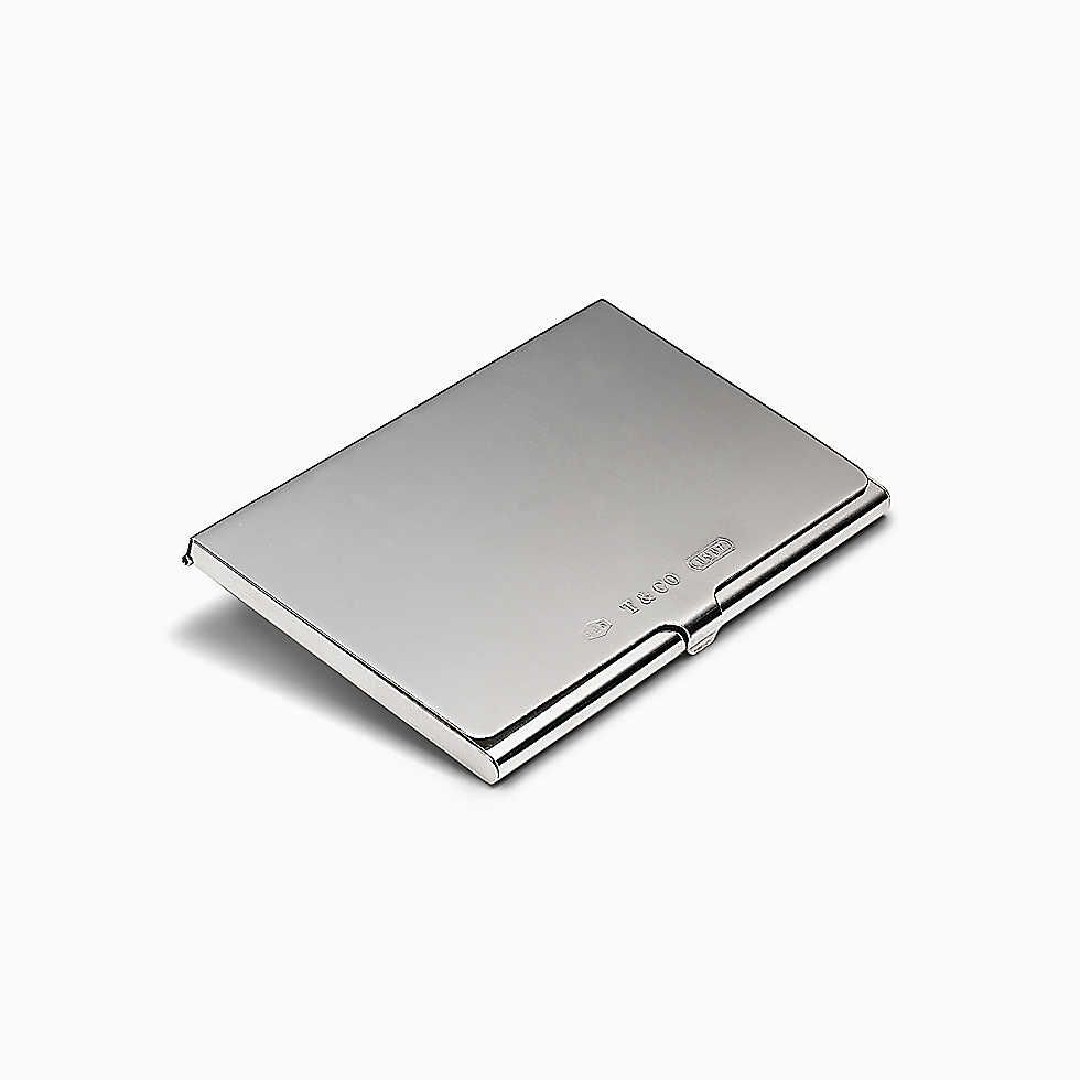 Tiffany Co Tiffany 1837 Business Card Case Business Card Case Tiffany Co Luxury Business Cards