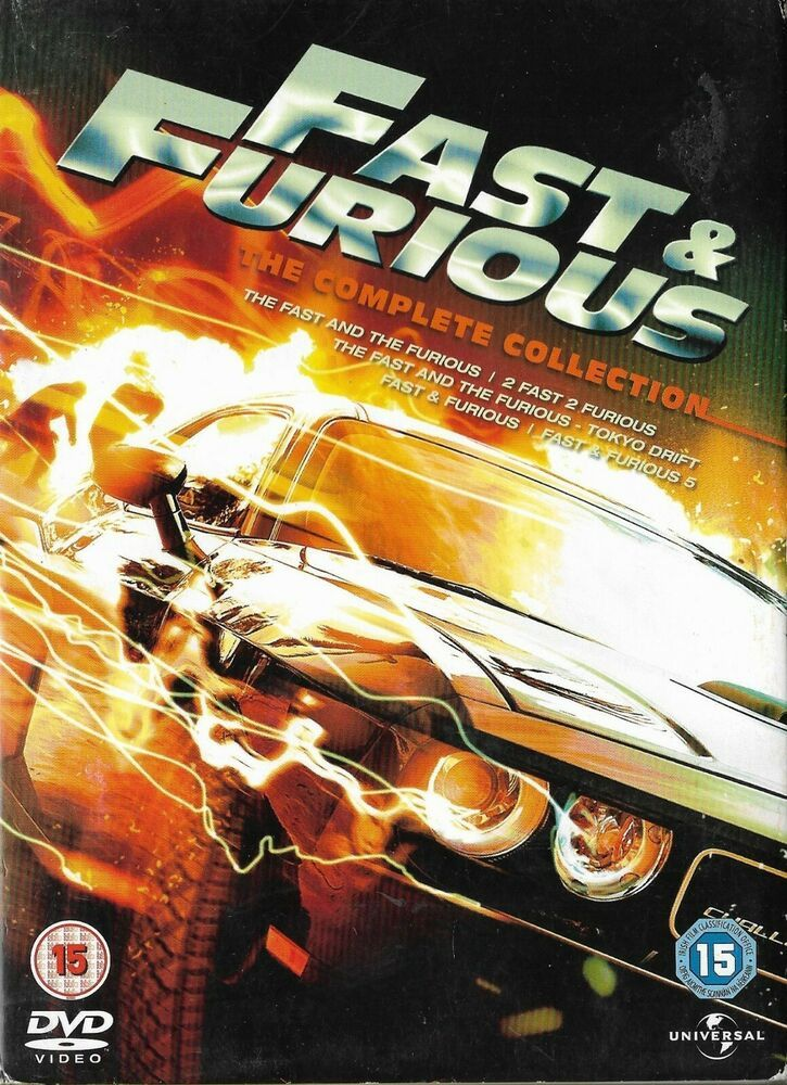 Fast and furious 15 dvd box set 2011 fast and furious