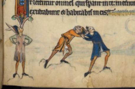 The Rutland Psalter c. 1260, Use of Sarum, British Library,