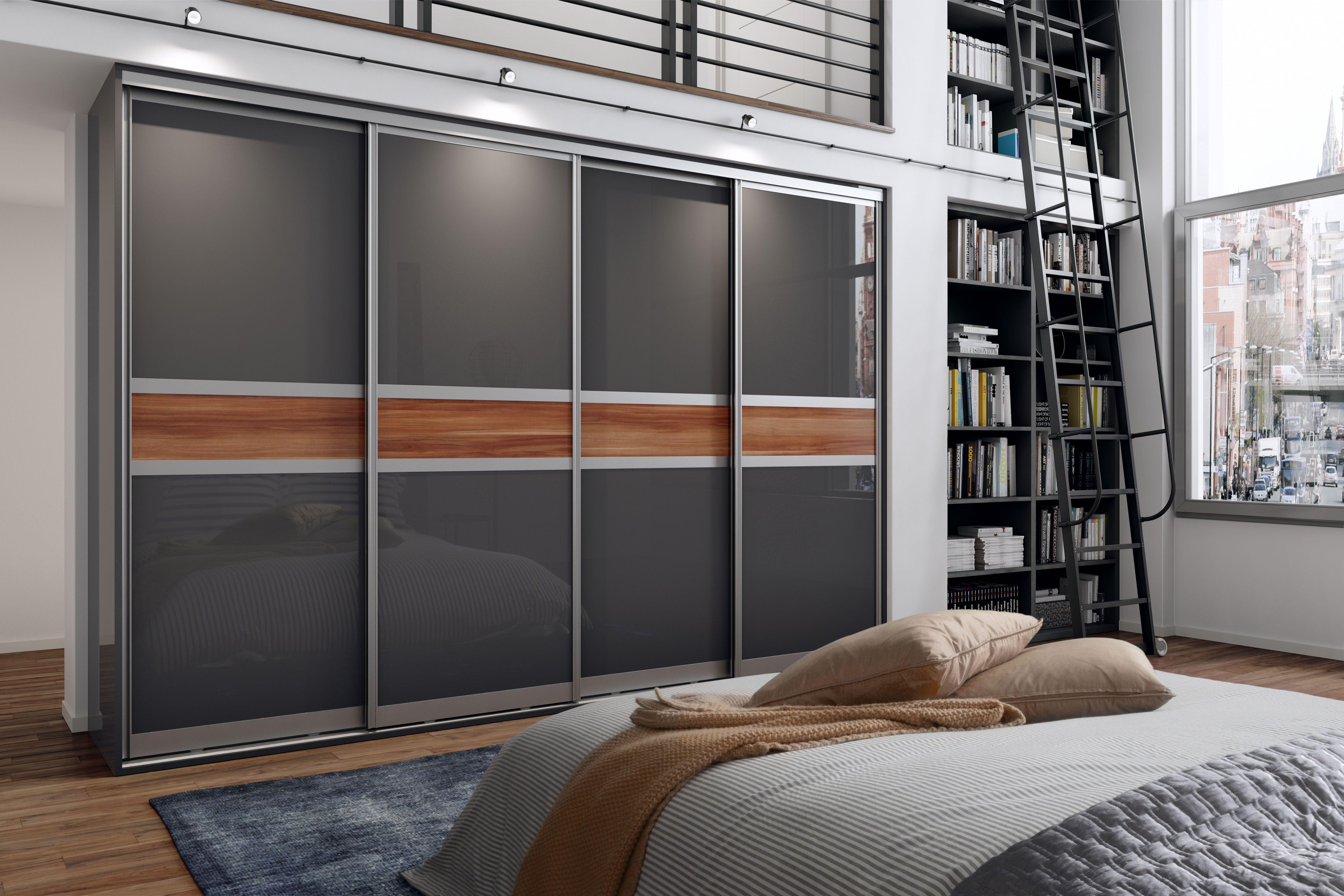 Modern Glide sliding doors for effective bedroom storage