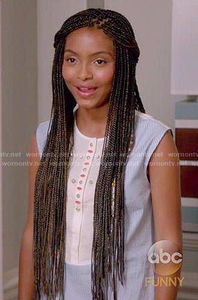 Blackish Cast Zoey Braids Google Search Natural Hair Hair