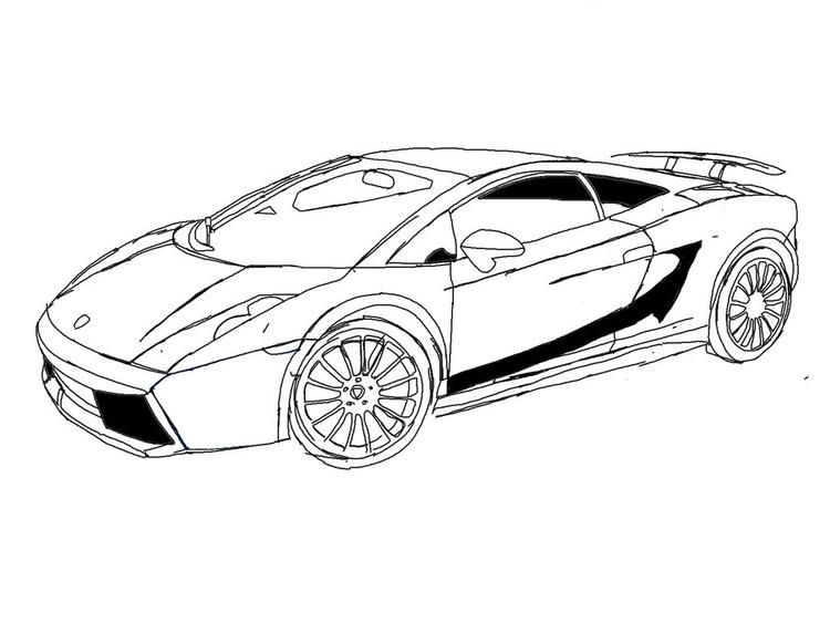 Lamborghini Gallardo Coloring Pages Cars Coloring Pages Coloring Pages Race Car Coloring Pages