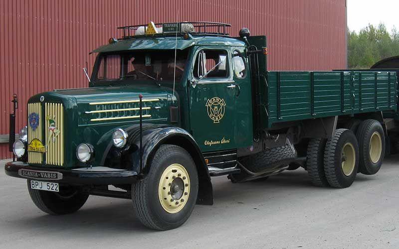 1957 Scania Vabis Ls71 Kamyon Old Trucks Classic Trucks Trucks