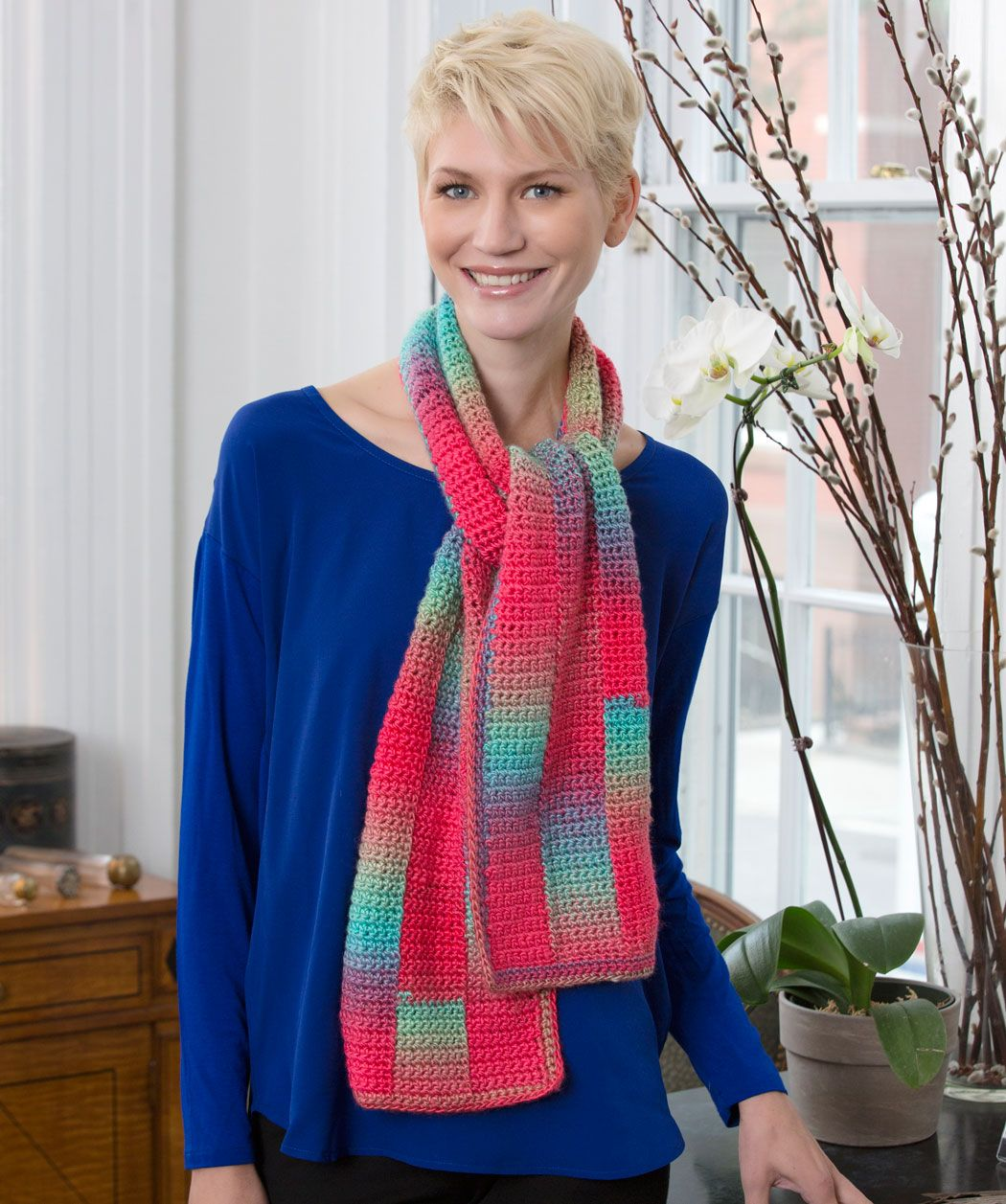 Gradient strip scarf crochet pattern red heart do you go to red gradient strip scarf crochet pattern red heart do you go to red heart bankloansurffo Image collections