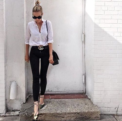 feff7065e0 Outfits casuales pero elegantes para tu día a día in 2019