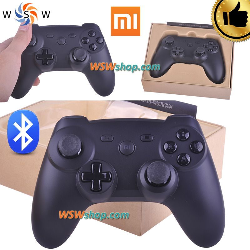 100%シャオmi Bluetoothゲームパッドアンドロイドジョイスティックブルートゥースコントローラgセンサー振動controleブルートゥース