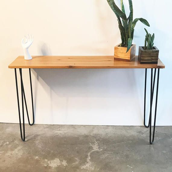Awesome Mid Century Minimalist Entryway Table with Hairpin Legs Amazing - Elegant Where to Buy Hairpin Legs Simple Elegant