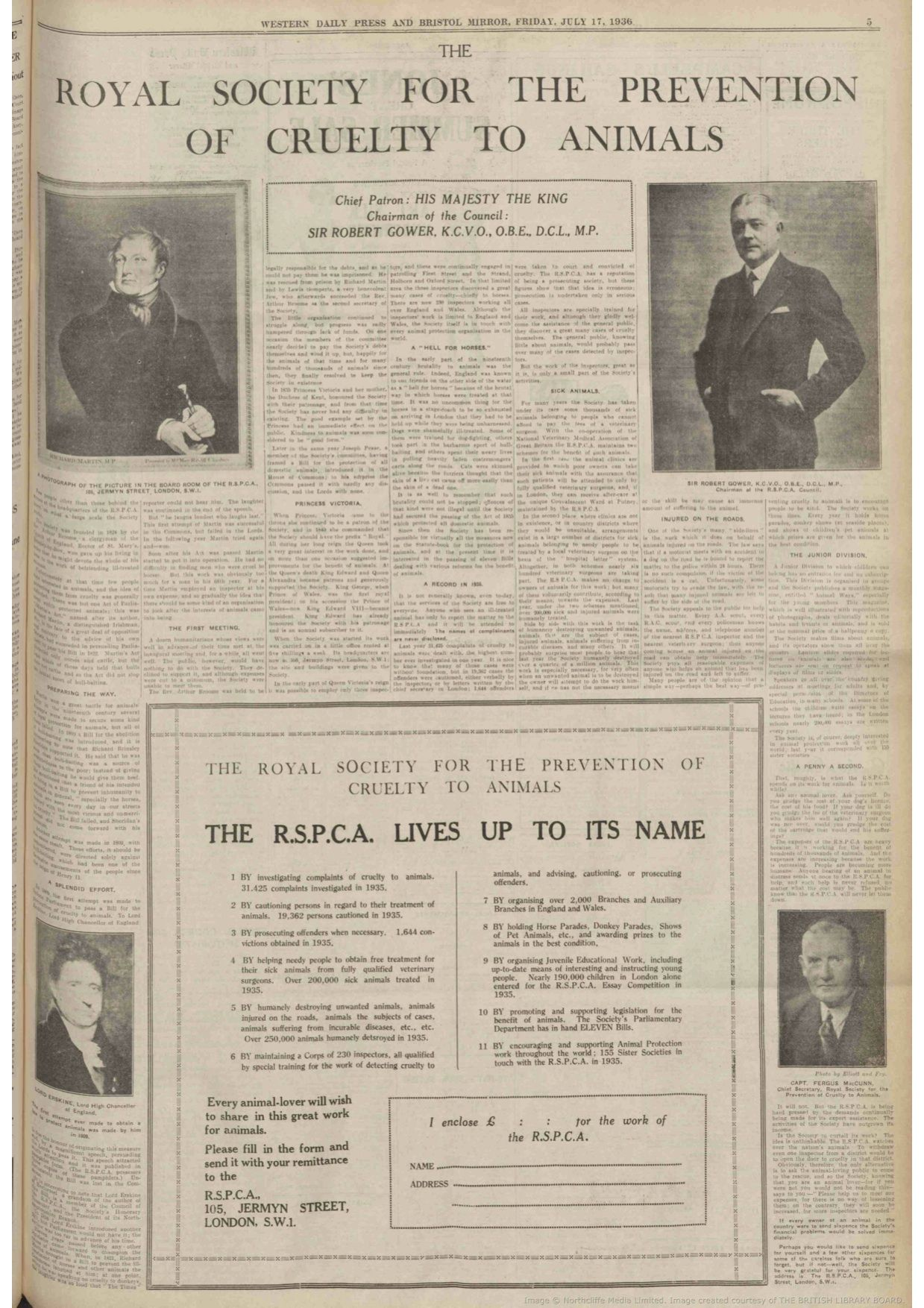 Rspca Advert 17 July 1936 At That Time The Society Was Evidently Promoting No Fewer Than Eleven Parliamentary Bills T Historical People About Me Blog Society