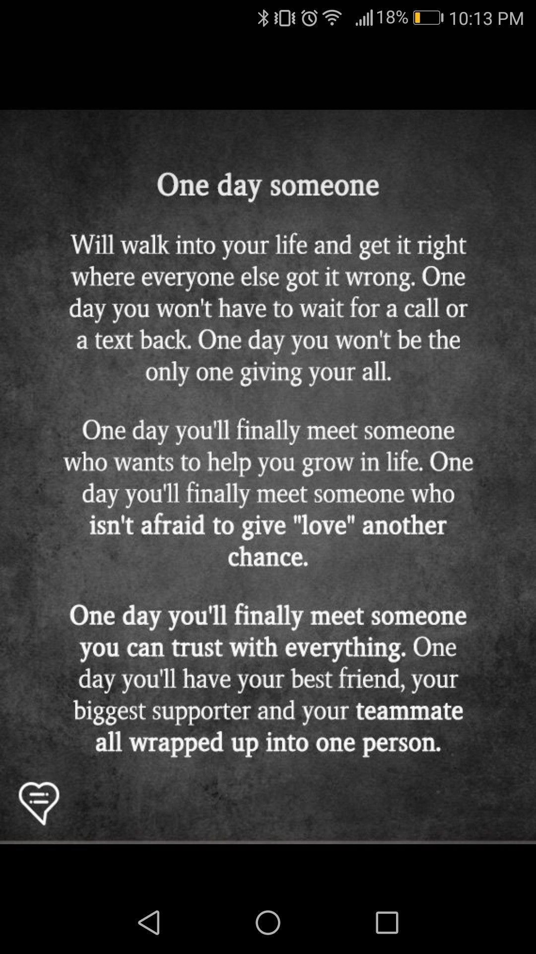 One Day True Finding True Love Quotes Finding Love Quotes