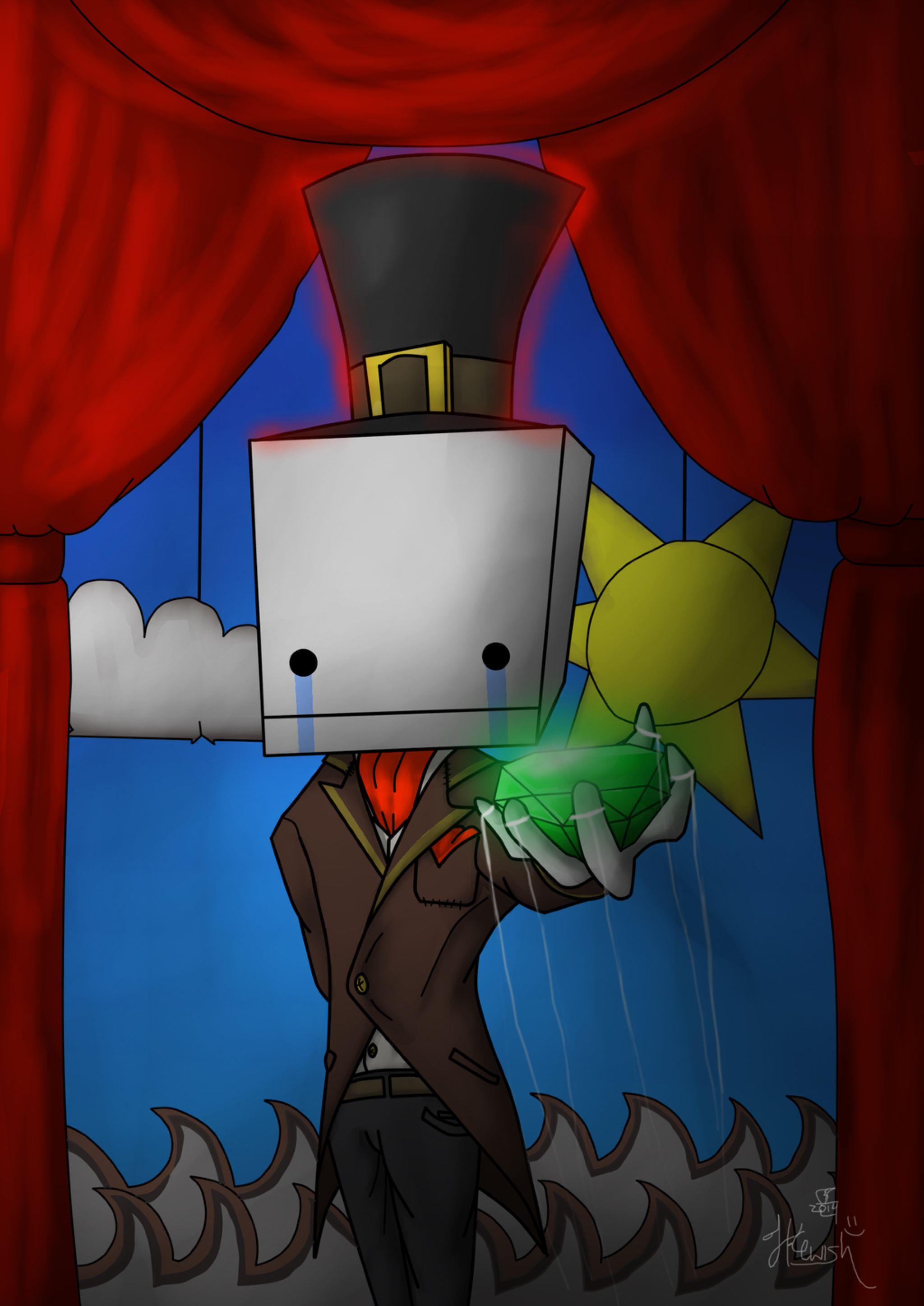 Hatty Hattington By Deadlyfly44 On Deviantart Castle Crashers Fan Art Art