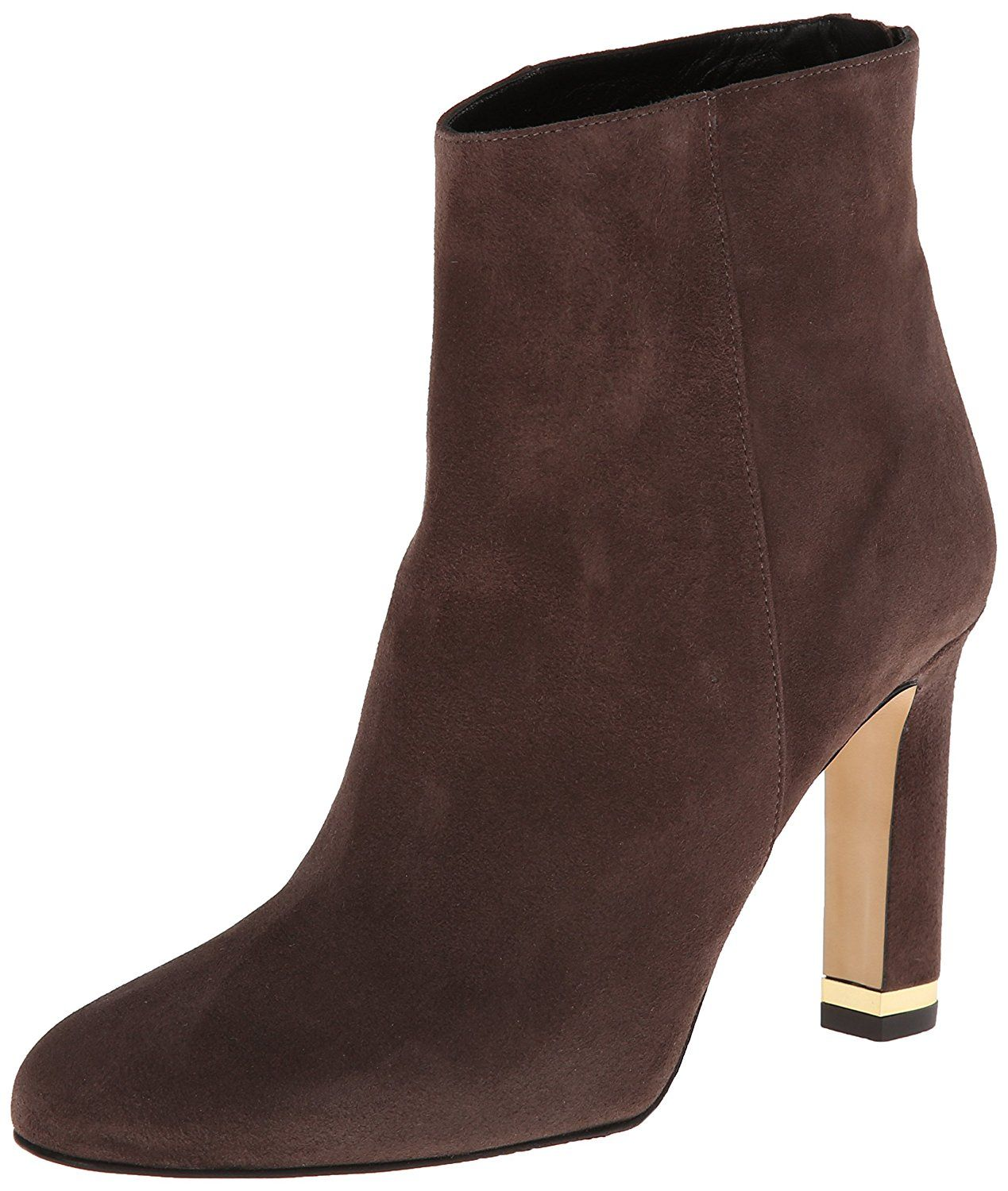 Kate Spade New York Womens Akanel Dark Taupe Suede - Boots