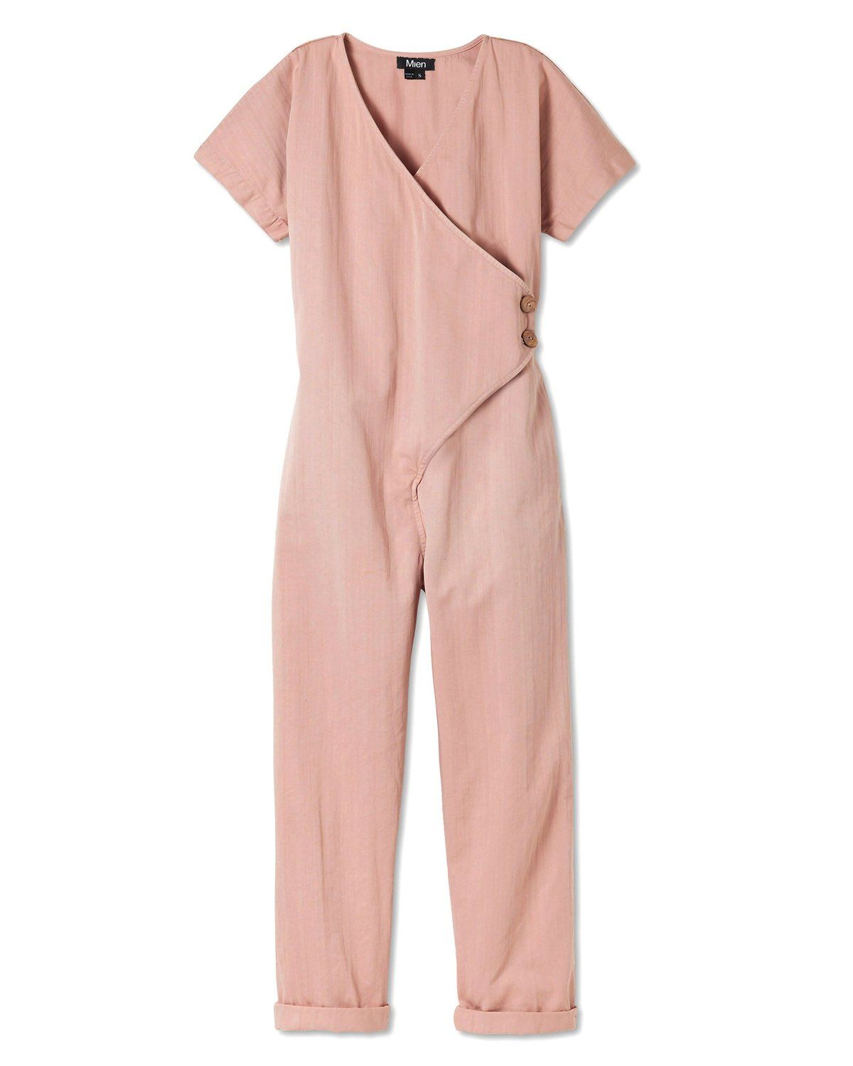 Kindness Jumpsuit Dusty Rose Jumpsuit Rose Clothing Pink Jumpsuit