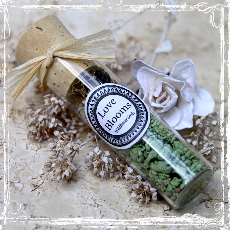 Plantable wedding favors - Love Blooms Wildflower Seed Wedding Favors 20 Bridal Shower Gift Flower