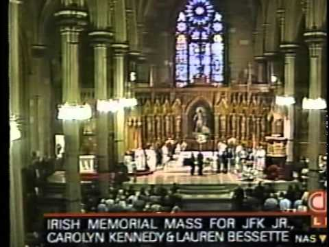 Jacqueline Kennedy Onassis Funeral Service Program: Graveside Ceremony - Mass (1994) - YouTube