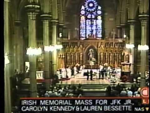 Jacqueline Kennedy Onassis Funeral Service Program: Graveside Ceremony - Mass (1994) - YouTube