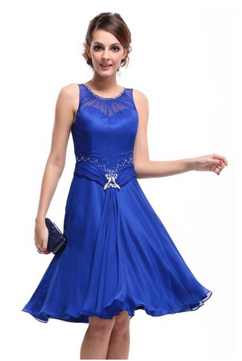 Blue Semi Formal Dress For $39.99 Shipped | Semi formal dresses