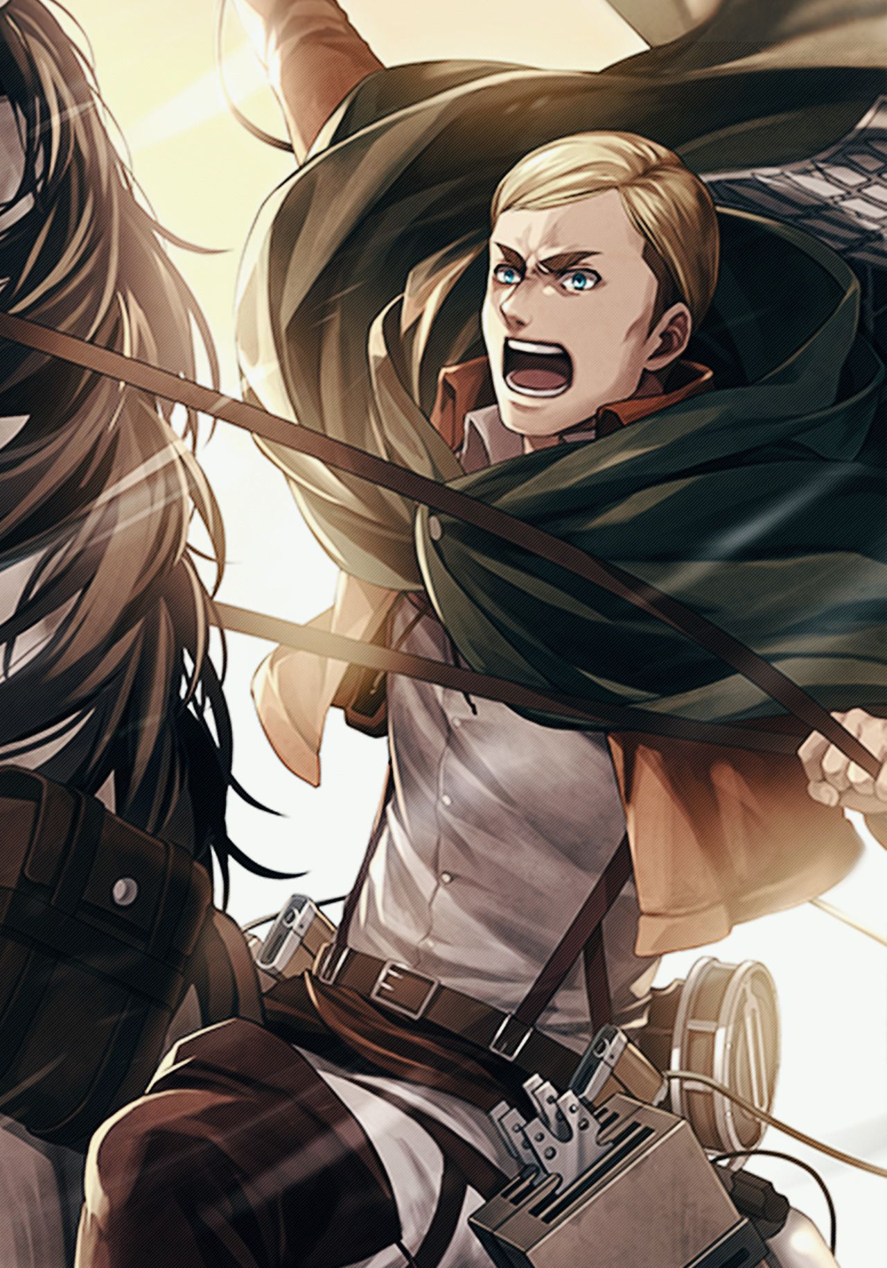 Pin by Rebekah on Attack on Titan Erwin attack on titan