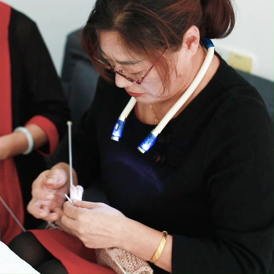Photo of Knitting Crocheting Lamp