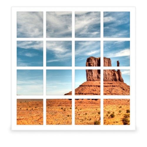 Photo Gallery 16 Square Collage Frame, White, Square | Products ...