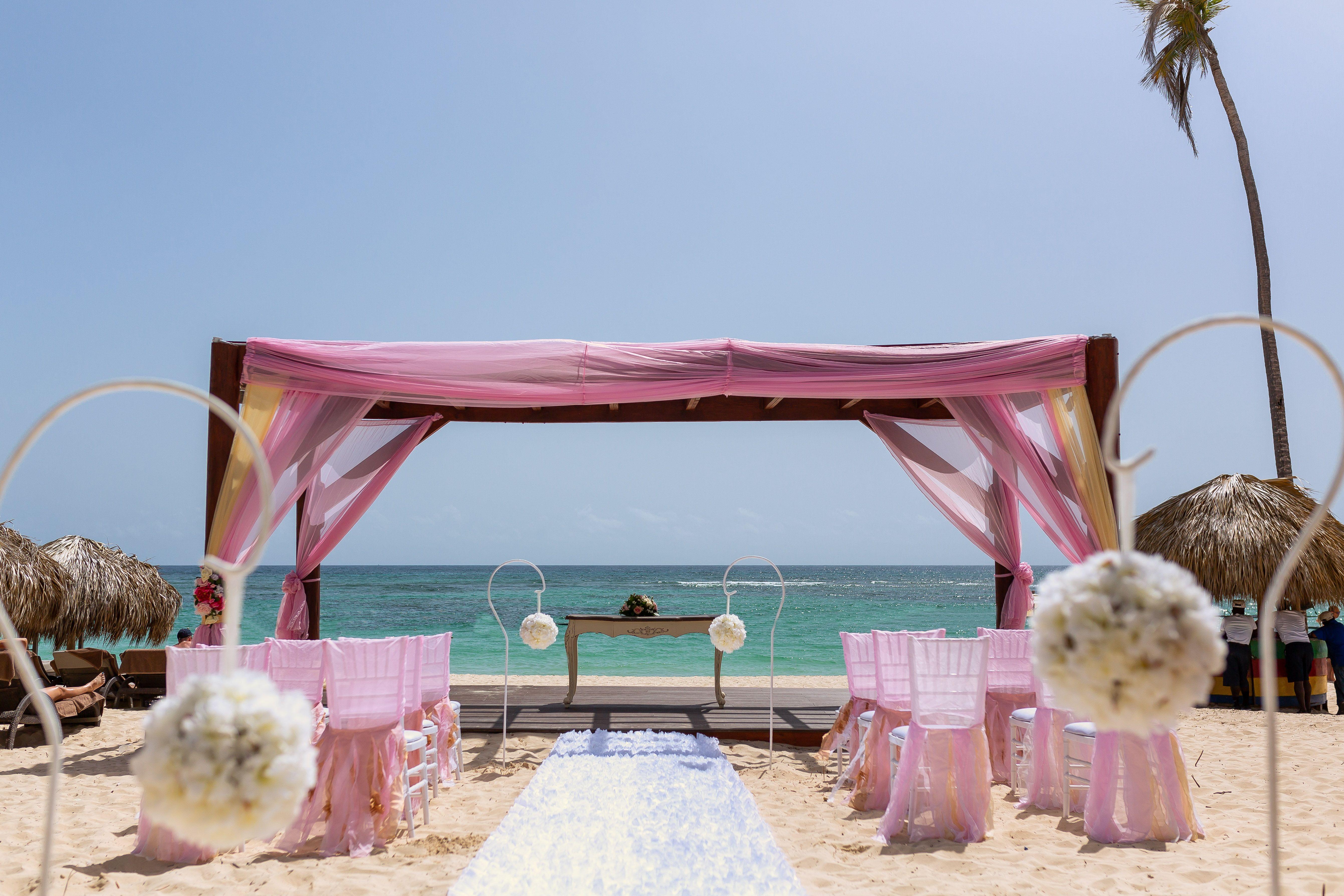 Beach Gazebo Punta Cana Wedding Wedding Ceremony Wedding