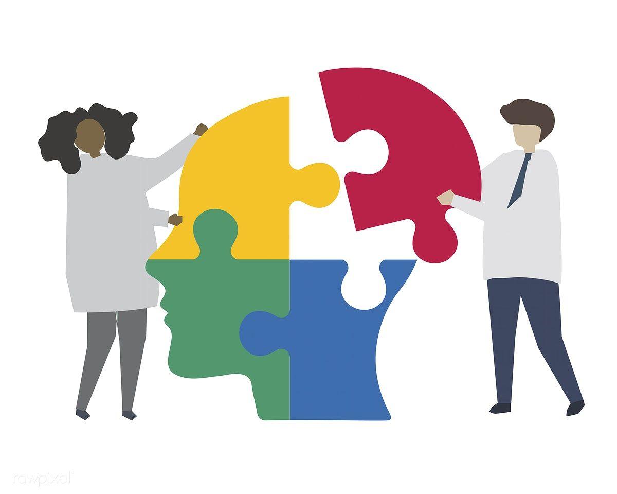 Teamwork Solving Human Mind Jigsaw Puzzle