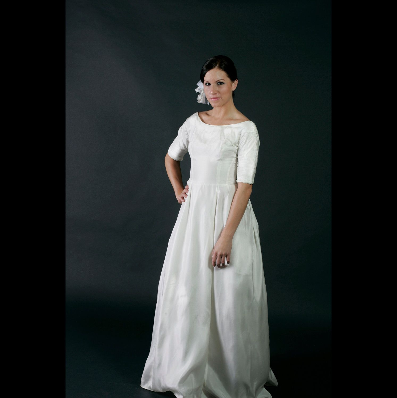 Vintage white silk wedding dress us wedding ideas pinterest