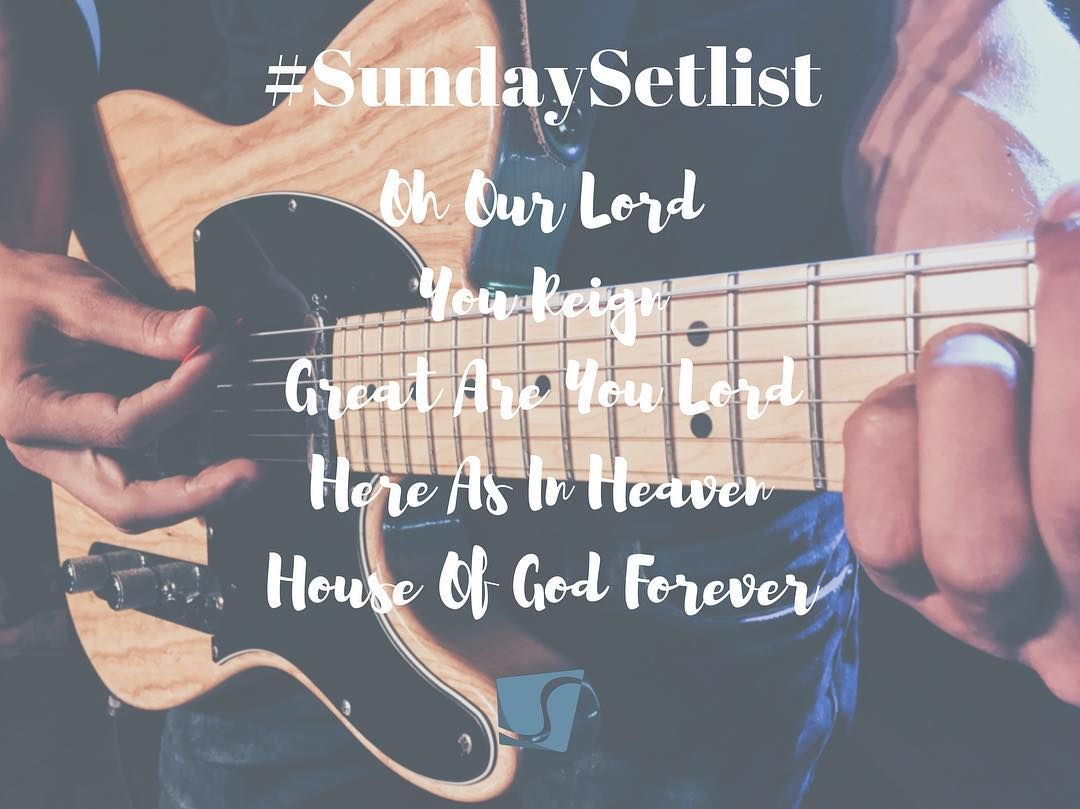 #SundaySetlist May 22 2016 Monterey Campus  Oh Our Lord | You Reign | Great Are You Lord | Here As In Heaven | House Of God Forever  PG Campus  Oh Our Lord | You Reign | Nothing I Hold Onto | Great Are You Lord | House Of God Forever by shorelinemonterey