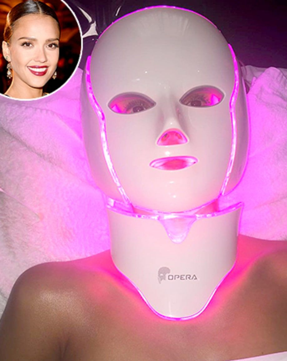 Colour therapy for beauty - Get The Secret Behind Jessica Alba S Freaky Facial