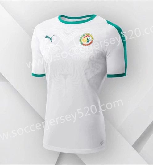 3c968dc3a 2018 World Cup Senegal Away White Thailand Soccer Jersey AAA