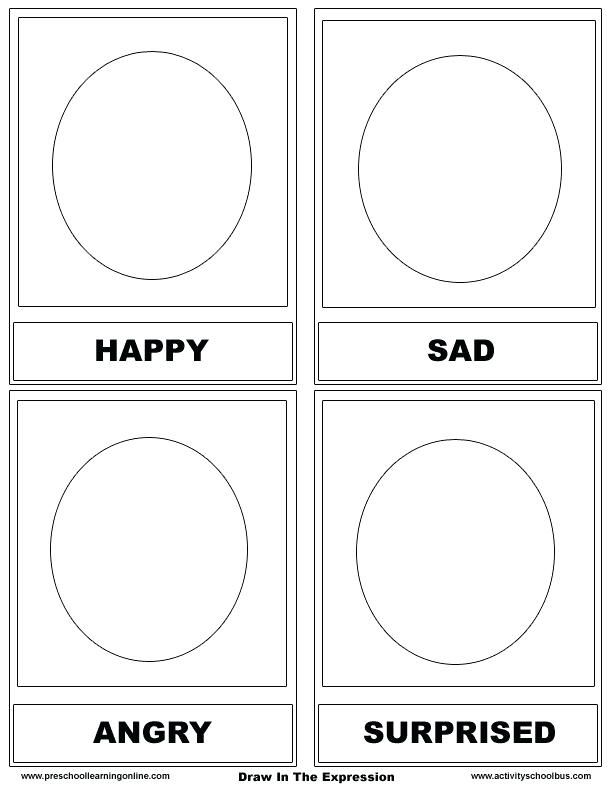 Image result for worksheet about feelings and emotions for ...