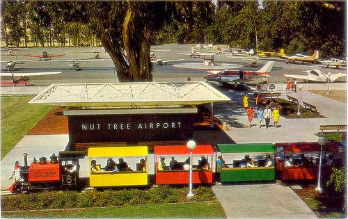 Nut Tree airport + railroad