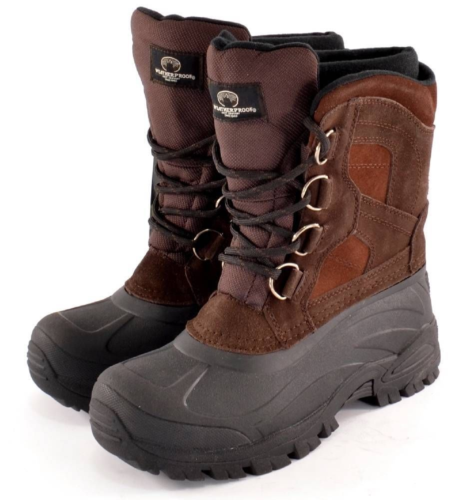 Winter Boots Therma Icy Brown Snow Boots Waterproof   Thermolite Insole Sz  8 NEW  Therma  WinterSnowBoots 631213b663