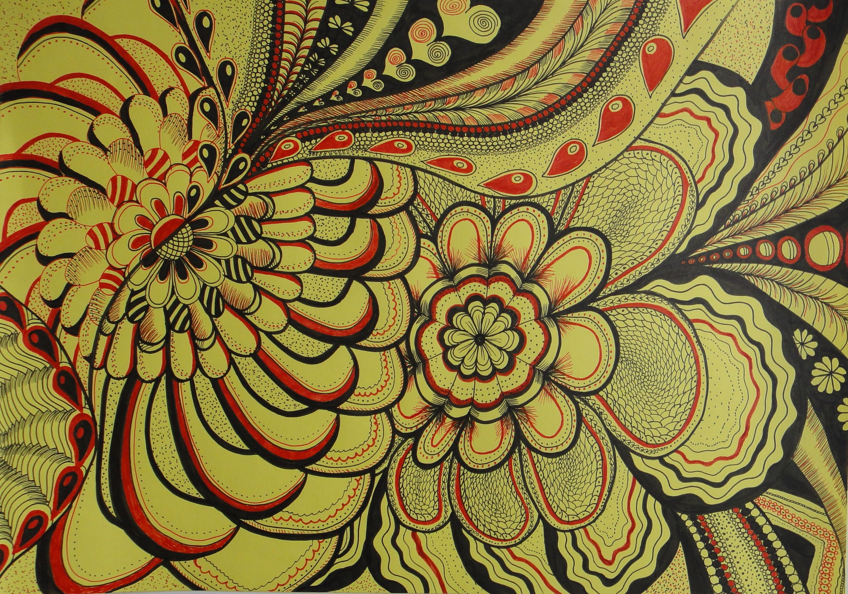 Double sided flower ii wwwsouldropscouk tapestry