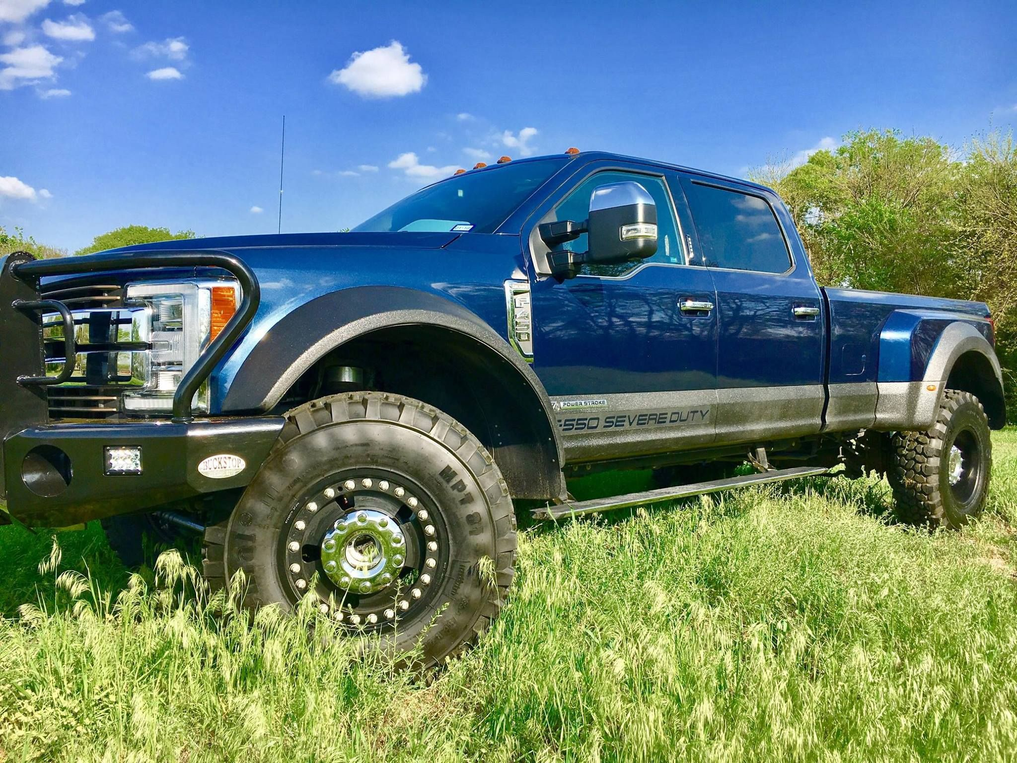 F550 severe duty trucks are built rock solid