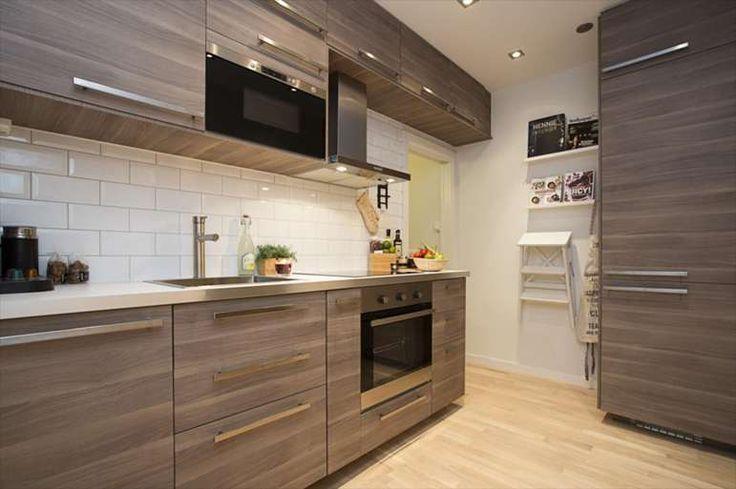 Cuisine Ikea Brokhult Home Kitchen Ikea Kitchen Kitchen Cabinets