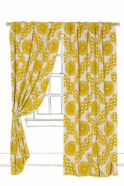 Climbing Vines Curtain #anthropologie  MIGHT NEED THESE!