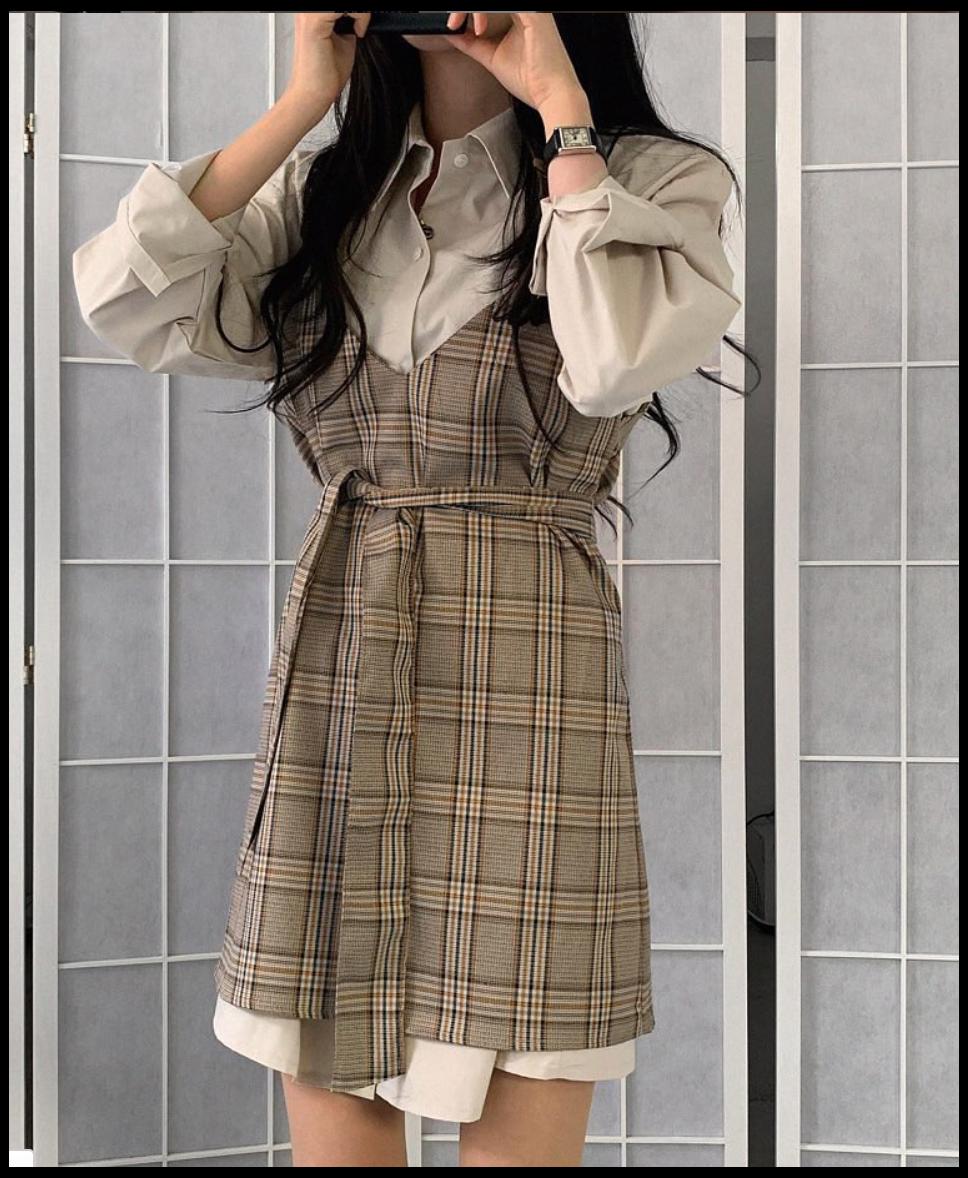 c h o c o l a t #korean #summer #outfits #dress