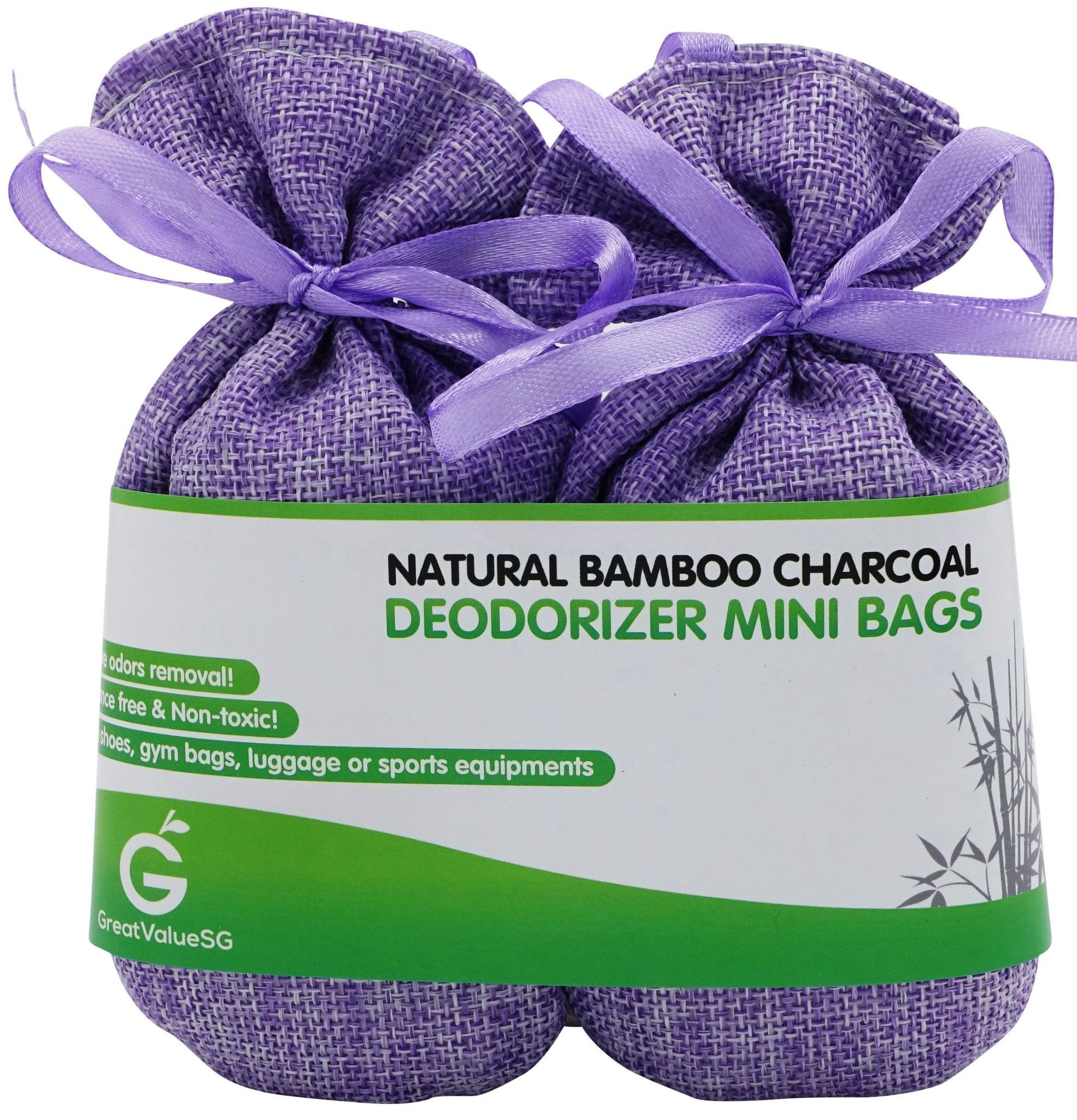 Bamboo Charcoal Deodorizer Mini Bags Mini bag, Deodorant