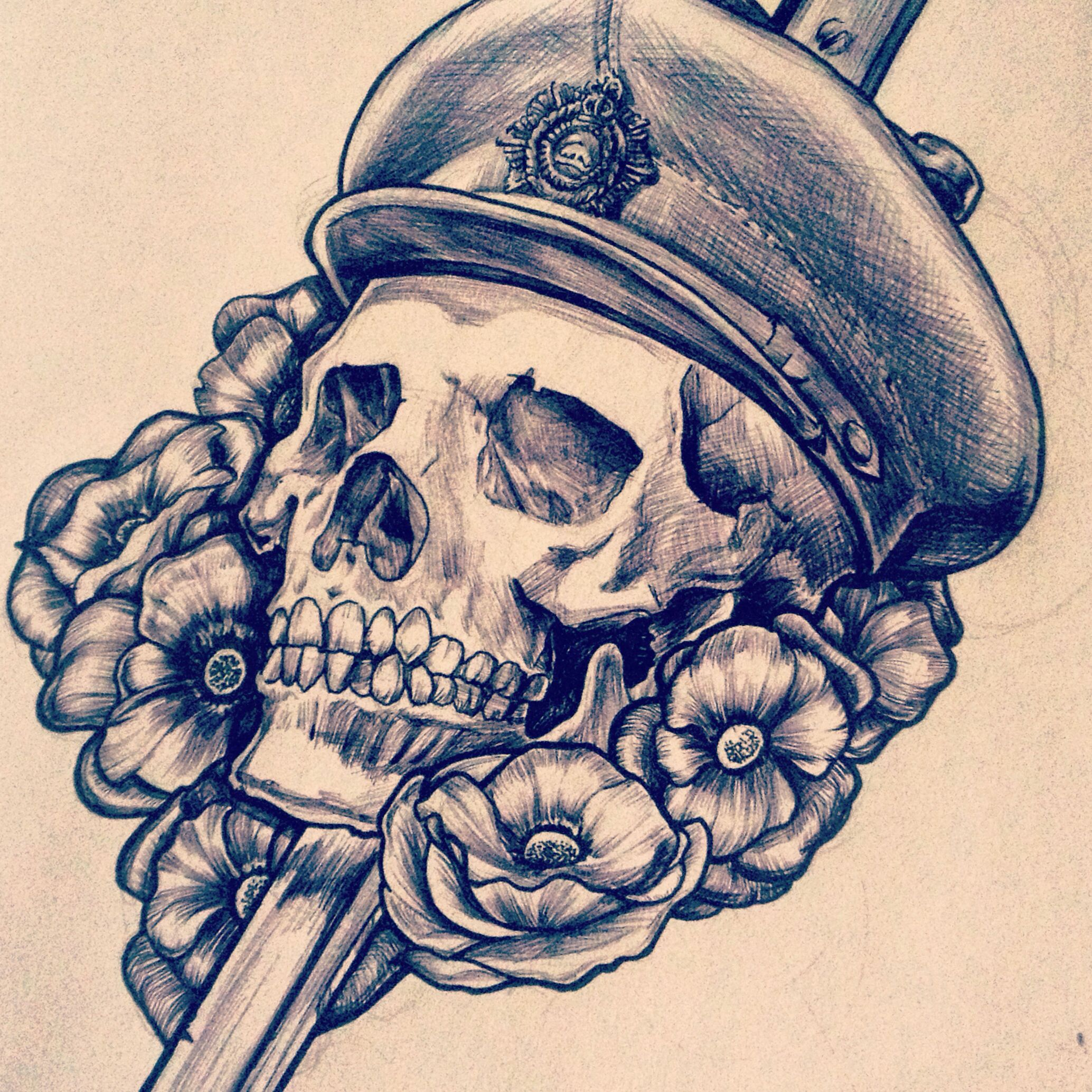 canadian wwi tattoo skull and dagger design ross rifle bayonet my tattoo designs pinterest. Black Bedroom Furniture Sets. Home Design Ideas