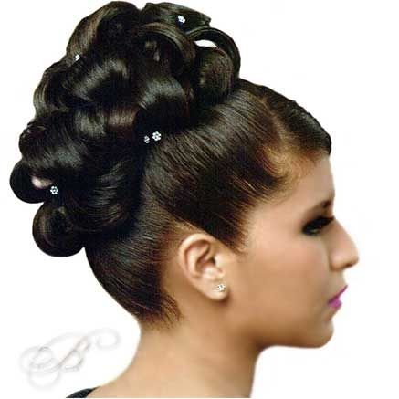 Formal Quinceanera Updo Hairstyle Quinceanera Hairstyles Special Occasion Hairstyles Hair Styles