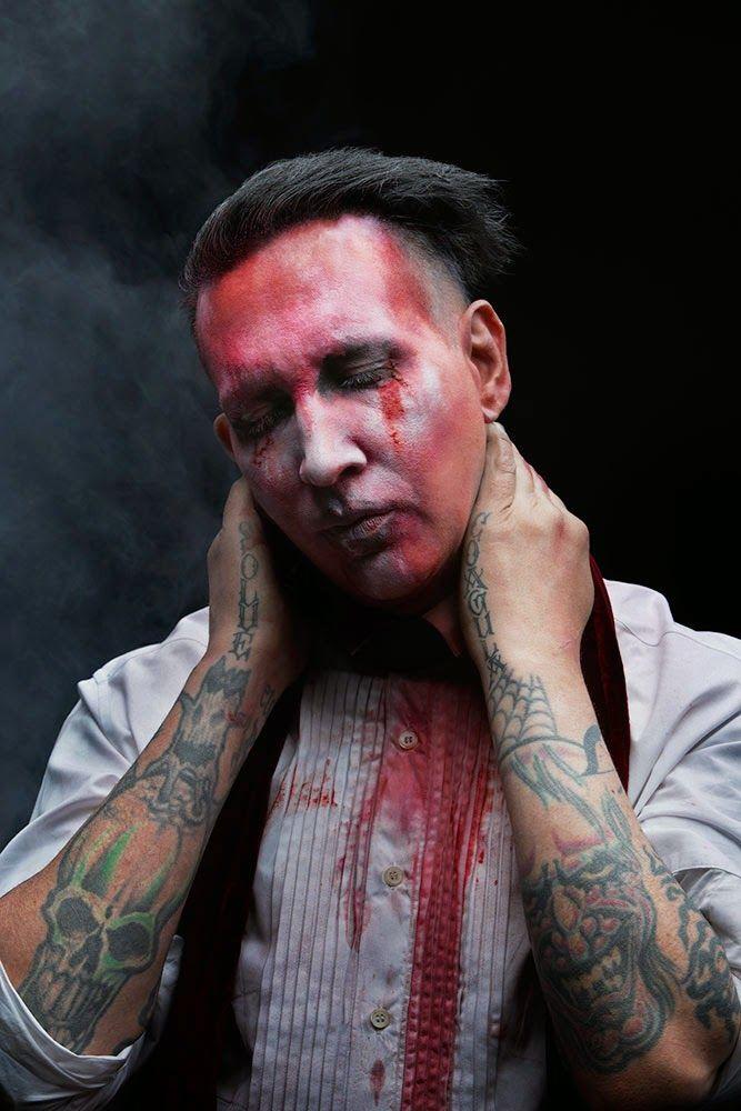 Marilyn Manson Teeth 2015