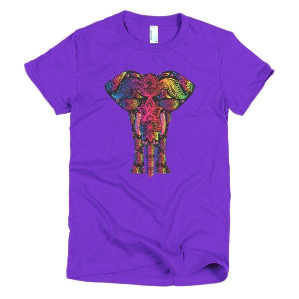 Pink Elephant - Women's Short Sleeve T-Shirt