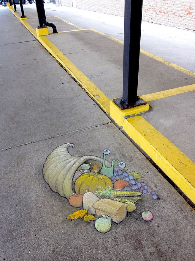 Chalk Art for All Seasons - David Zinn