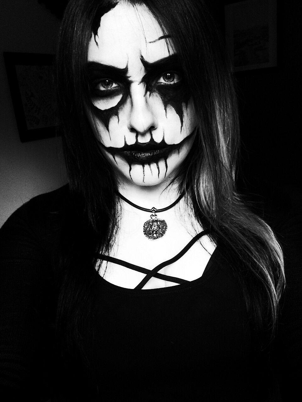 black metal girl makeup saubhaya