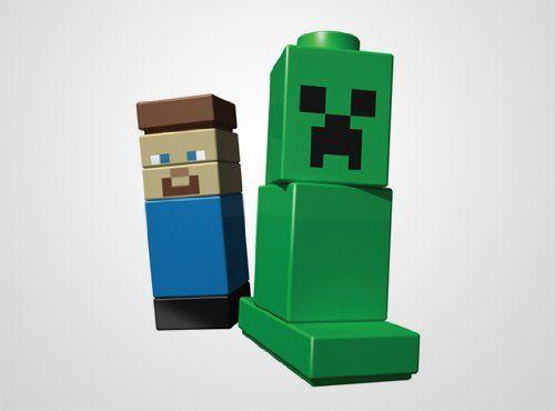 Lego Minecraft Original 21102 Woohooyeah Carter Pinterest