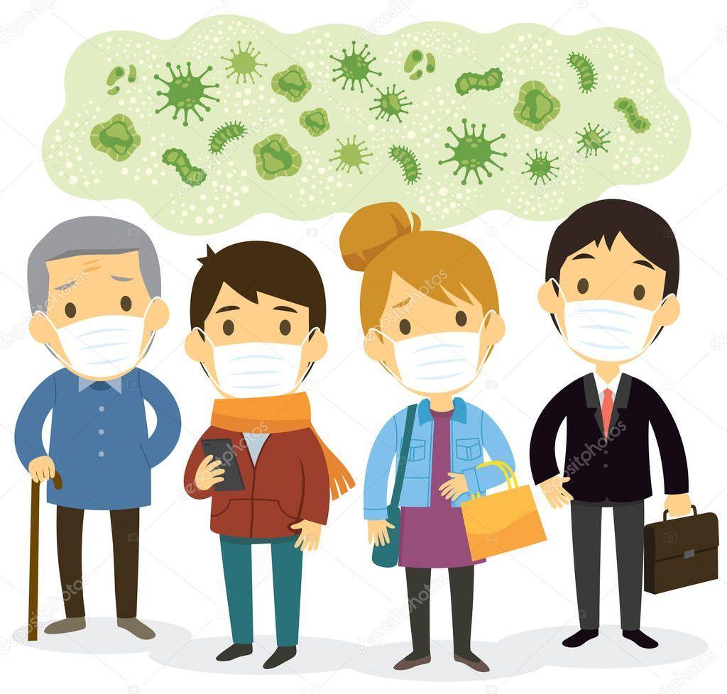 Pin On Coronavirus Illustration, Virus Background