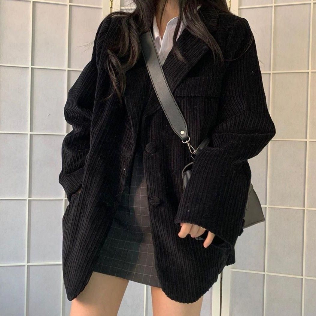 Korean Grunge Aesthetic Outfits