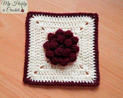 My Hobby Is Crochet 10 Free Crochet Flower Patterns By My Hobby Is