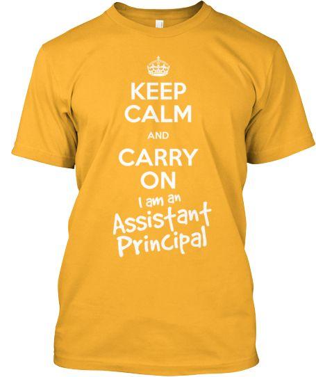 46137826 Assistant Principal T-Shirt - Keep Calm | Education | Assistant ...